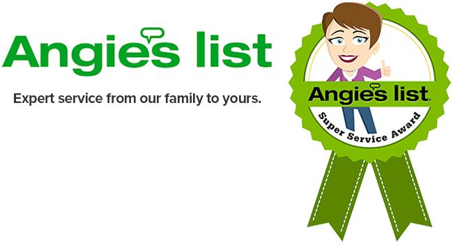 Angie's List Service Award